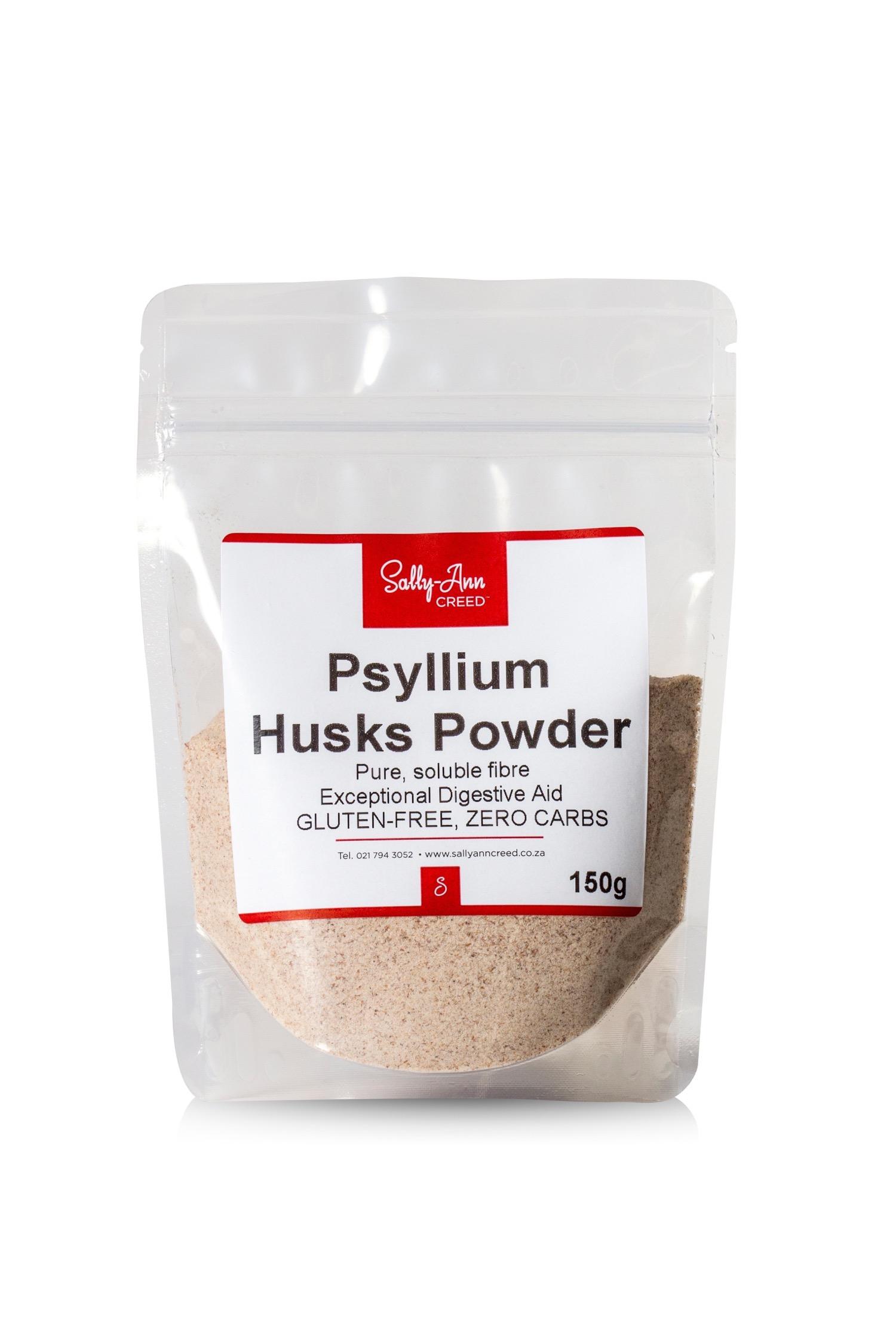 Organic Psyllium Husk Fibre Sally Ann Creed