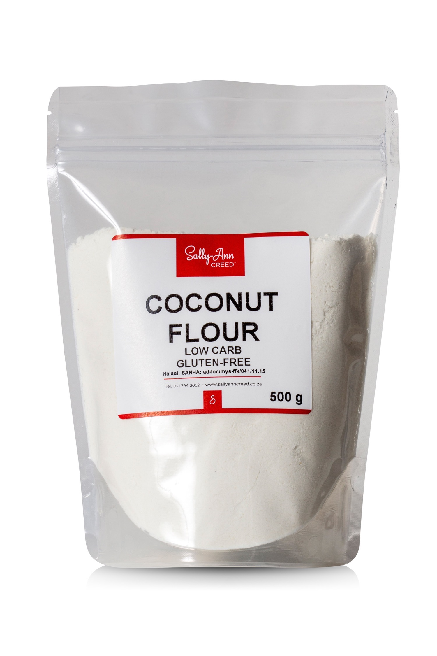 Coconut flour packet
