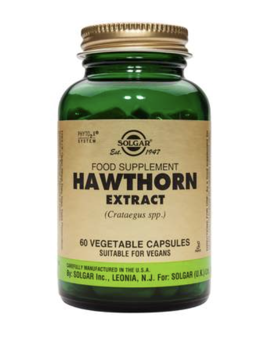 Hawthorne Herb Extract Vegicaps