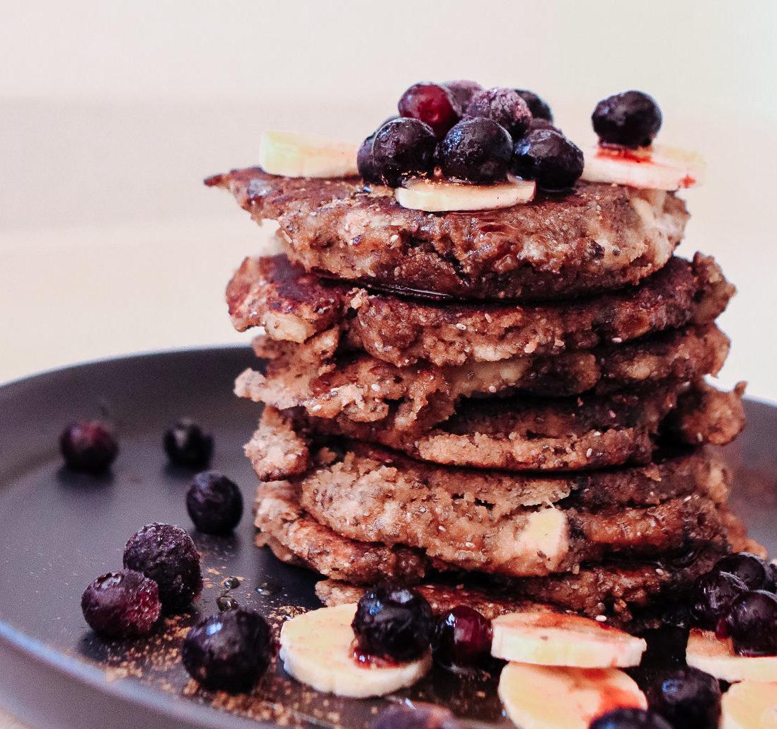 Paleo Chia Pancakes
