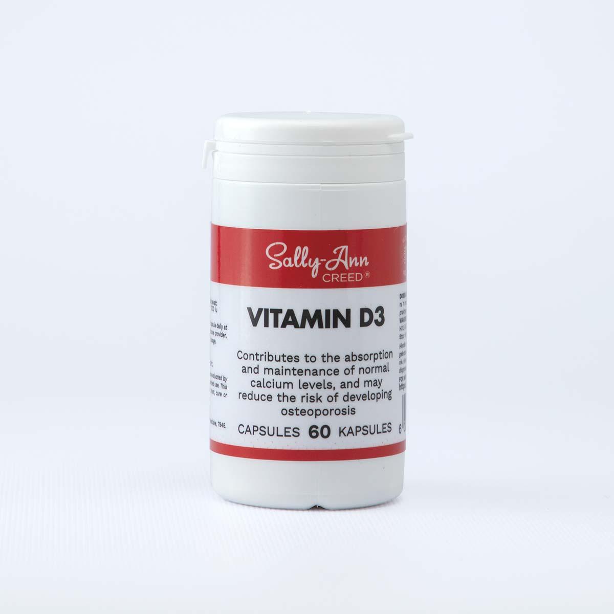 Sally-Ann Creed Vitamin D3